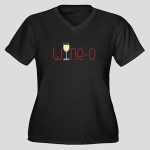 Wine-o Plus Size T-Shirt