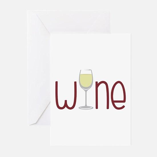Wine Greeting Cards