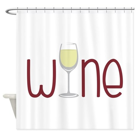 Wine Shower Curtain By CONCORD23