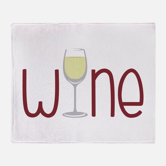 Wine Throw Blanket
