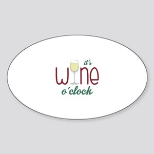 Wine OClock Sticker