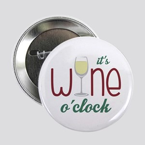 "Wine OClock 2.25"" Button"