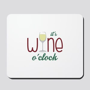 Wine OClock Mousepad