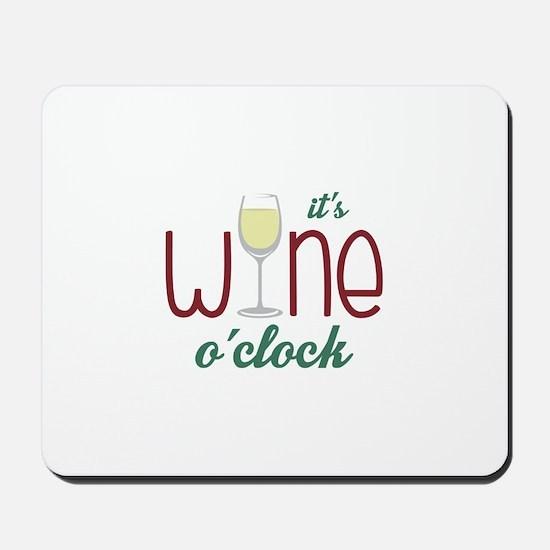 Wine OClock Mousepad