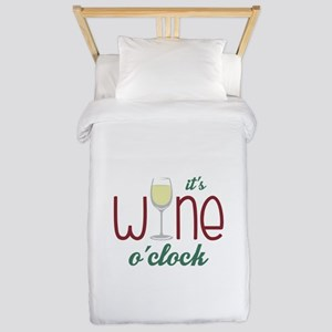 Wine OClock Twin Duvet