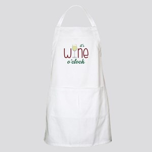 Wine OClock Apron