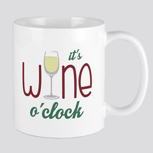 Wine OClock Mugs
