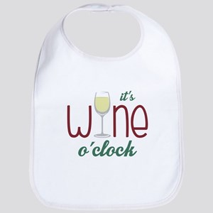 Wine OClock Bib