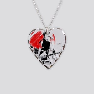 Japanese Artist Necklace Heart Charm