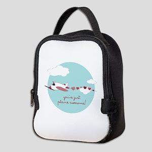 Plane Awesome Neoprene Lunch Bag