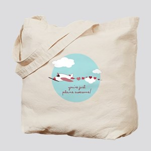 Plane Awesome Tote Bag