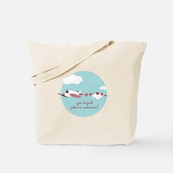 Plane Awesome Tote Bag