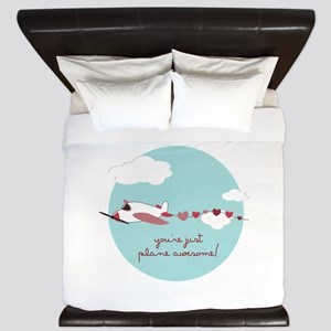 Plane Awesome King Duvet