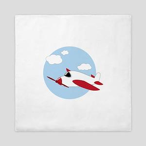 Airplane Queen Duvet
