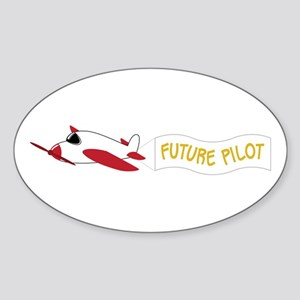 Future Pilot Sticker