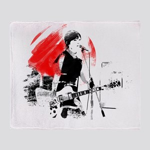 Japanese Artist Throw Blanket