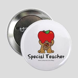Special Teacher (bear) Button