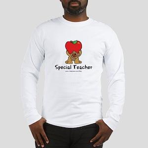 Special Teacher (bear) Long Sleeve T-Shirt