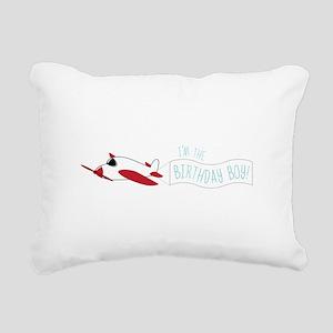 I'm The Birthday Boy! Rectangular Canvas Pillow