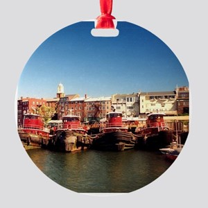 Portsmouth NH Round Ornament