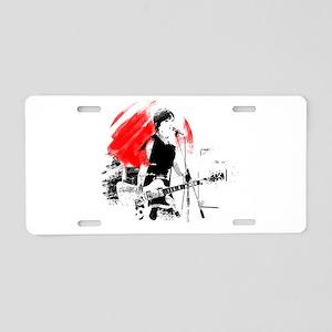 Japanese Artist Aluminum License Plate