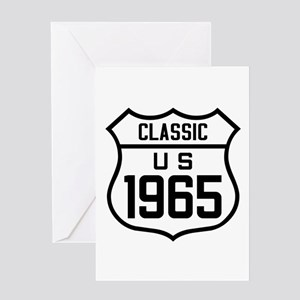 Classic US 1965 Greeting Cards