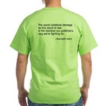 Freedom Rings Green T-Shirt
