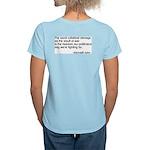 Freedom Rings Women's Pink T-Shirt
