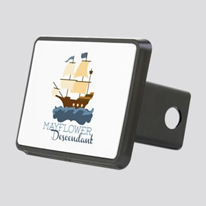 Mayflower Descendant Hitch Cover