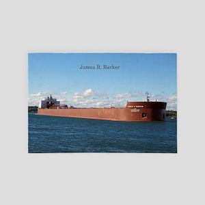James R. Barker 4' X 6' Rug