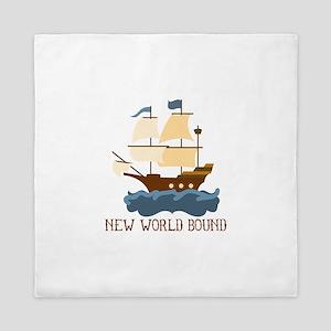 New World Bound Queen Duvet