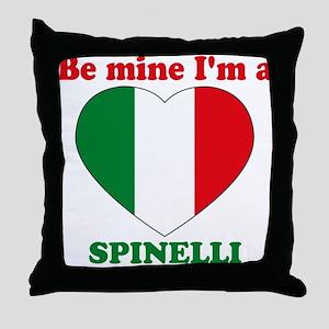 Spinelli, Valentine's Day Throw Pillow