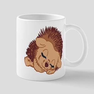 Sleeping Hedgehog Mugs