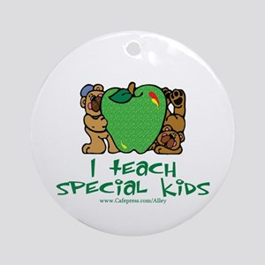 Teach Special Kids Ornament (Round)