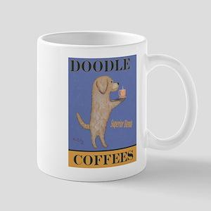 Doodle Coffee 11 oz Ceramic Mug