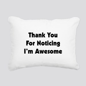 I'M AWESOME Rectangular Canvas Pillow
