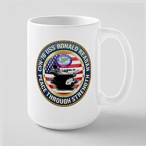 CVN-76 USS Ronald Reagan Large Mug
