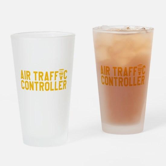 Cute Air traffic control Drinking Glass