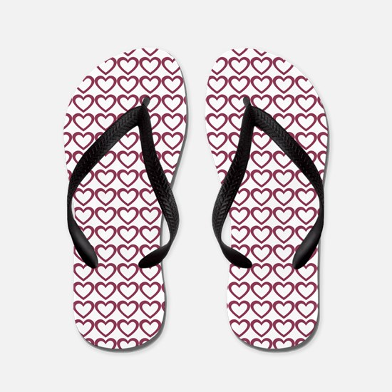 Cute Birthday girls mom Flip Flops