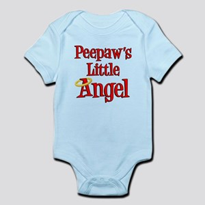 Peepaw's Little Angel Body Suit