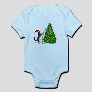 Christmas Kitty Cat Body Suit