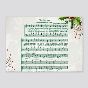 Gloria in excelsis Deo 5'x7'Area Rug