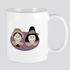 Pilgrim Couple Mugs