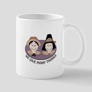 Give Many Thanks Mugs