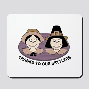 Thanks to our Settlers Mousepad