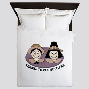 Thanks to our Settlers Queen Duvet