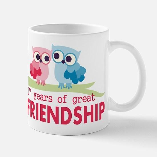 17th Anniversary Hoot Mug