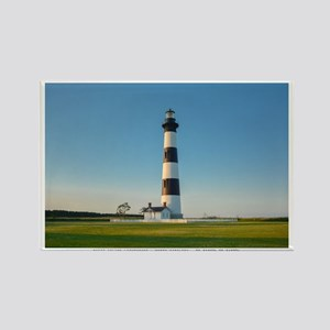 Bodie Island Lighthouse. Rectangle Magnet