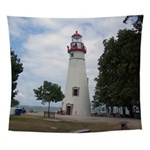 Marblehead Lighthouse Wall Tapestry