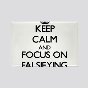 Keep Calm and focus on Falsifying Magnets